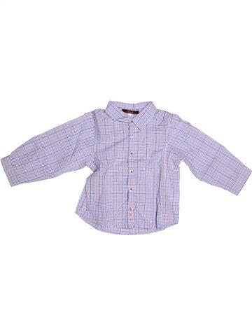Chemise manches longues garçon JACADI gris 2 ans hiver #1254388_1
