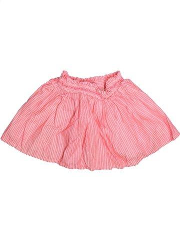 Falda niña CYRILLUS rosa 3 años verano #1254646_1