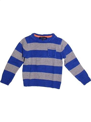 Pull garçon YCC-214 bleu 3 ans hiver #1254844_1
