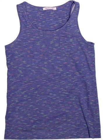 T-shirt sans manches fille MONOPRIX bleu 10 ans été #1255313_1