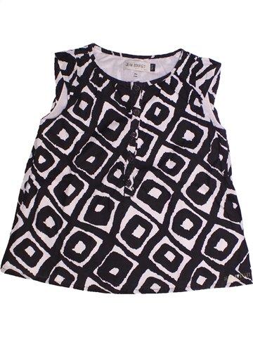 Blusa de manga corta niña JEAN BOURGET negro 5 años verano #1255652_1