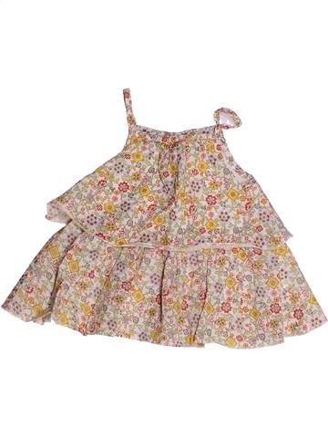 Blusa de manga corta niña CATIMINI beige 2 años verano #1256047_1