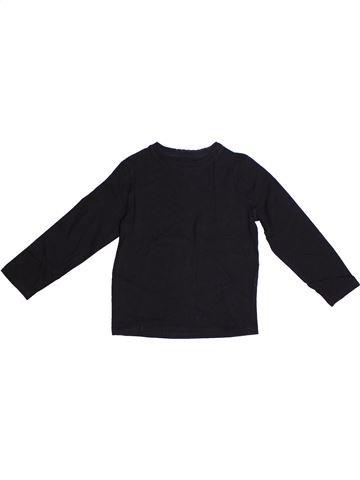T-shirt manches longues garçon LH BY LA HALLE noir 6 ans hiver #1257130_1