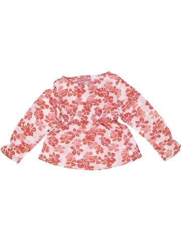 Blouse manches longues fille LISA ROSE rose 4 ans hiver #1257920_1