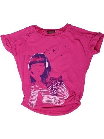Camiseta de manga corta niña CATIMINI violeta 6 años verano #1258542_1