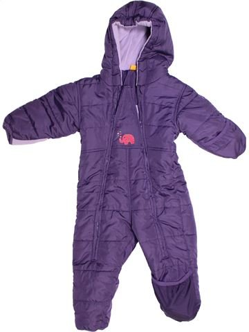 Combi-Pilote fille IMPIDIMPI violet 12 mois hiver #1258623_1