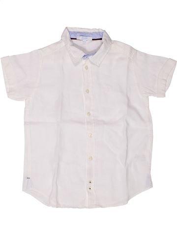 Chemise manches courtes garçon JACADI blanc 8 ans été #1258900_1
