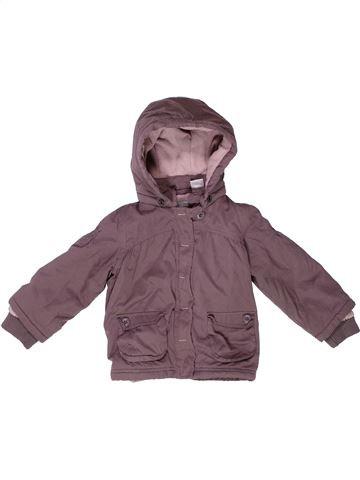 Manteau fille LA REDOUTE CRÉATION violet 2 ans hiver #1259217_1