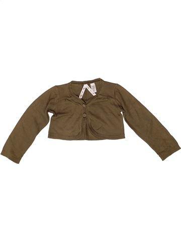 Bolero niña OKAIDI marrón 3 años invierno #1259256_1