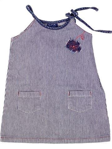 Robe fille CFK gris 3 ans été #1259305_1
