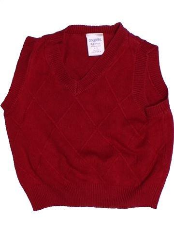 Pull garçon GYMBOREE rouge 6 mois hiver #1259524_1