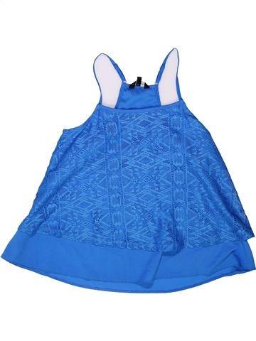 Blusa de manga corta niña CANDY COUTURE azul 13 años verano #1259564_1