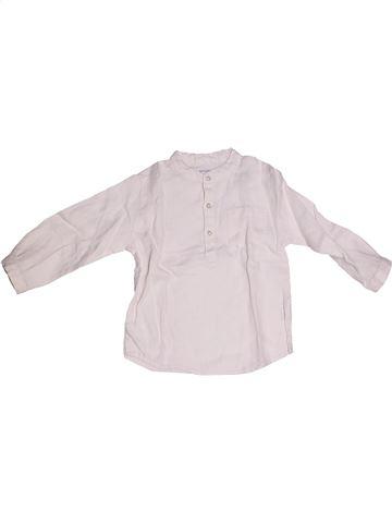 Camisa de manga larga niño BOUT'CHOU violeta 2 años invierno #1260310_1