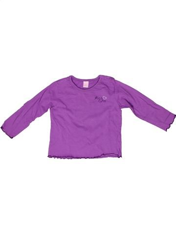 T-shirt manches longues fille DOPODOPO violet 2 ans hiver #1261049_1