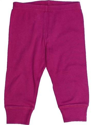 Pantalón niña PETIT BATEAU violeta 2 años verano #1261092_1