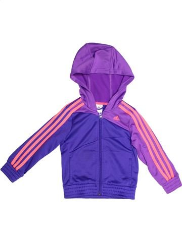 Sportswear fille ADIDAS violet 6 ans hiver #1261895_1