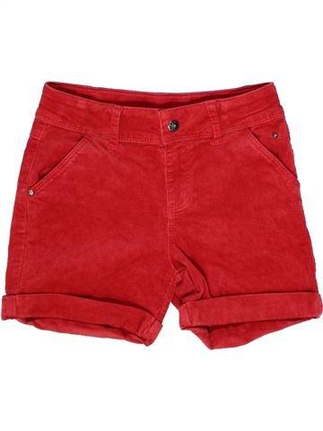 Short - Bermuda fille TCHIBO rouge 10 ans hiver #1262195_1