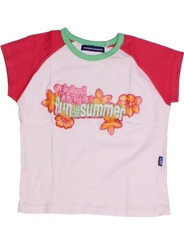 Camiseta de manga corta niña ORIGINAL MARINES blanco 2 años verano #1262206_1