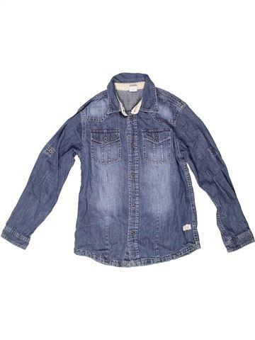 Chemise manches longues garçon S OLIVER bleu 10 ans hiver #1262311_1