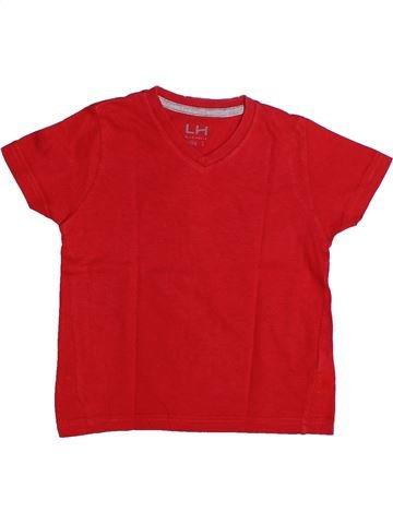 T-shirt manches courtes garçon LH BY LA HALLE rouge 3 ans été #1262721_1