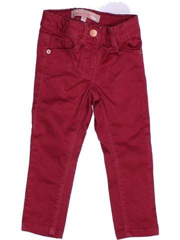 Pantalón niña LISA ROSE violeta 2 años invierno #1262856_1