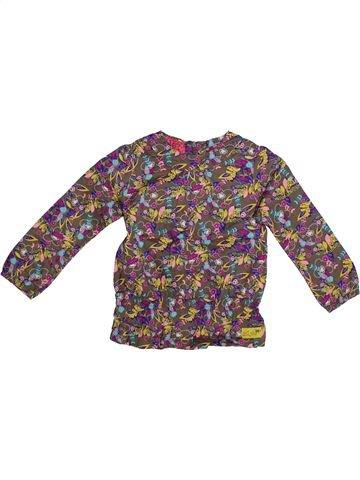 Blusa de manga larga niña LA COMPAGNIE DES PETITS marrón 3 años invierno #1263085_1