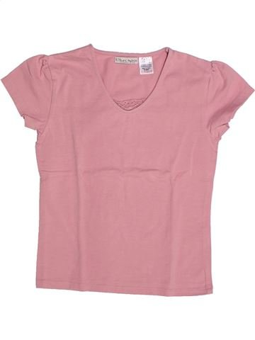 Camiseta de manga corta niña LA REDOUTE CRÉATION rosa 9 años verano #1263148_1