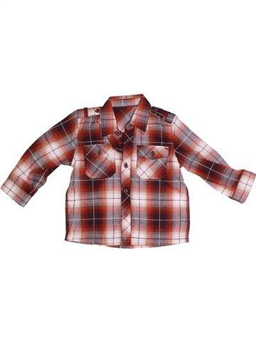 Chemise manches longues garçon MOTHERCARE marron 2 ans hiver #1263742_1