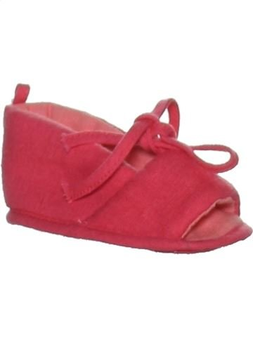 Chaussures bébé fille SUCRE D'ORGE rose 3 mois été #1263838_1