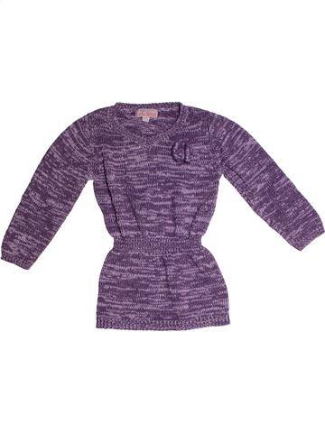 Tunique fille LISA ROSE violet 3 ans hiver #1263982_1