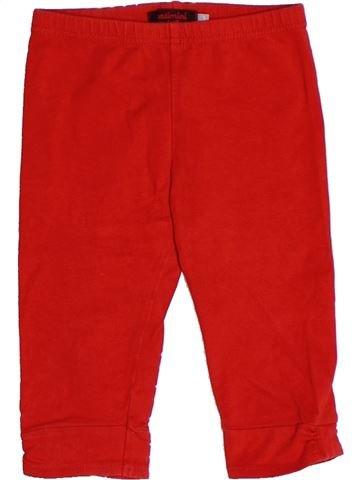 Legging niña CATIMINI rojo 3 años verano #1264271_1