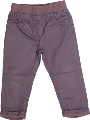 Pantalon fille KIMBALOO gris 2 ans hiver #1264548_1