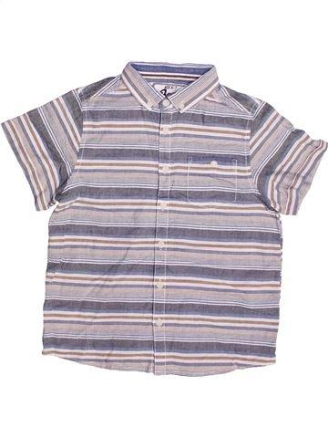 Chemise manches courtes garçon BOYS gris 7 ans été #1265320_1