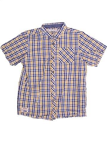 Chemise manches courtes garçon DUDES rose 9 ans été #1265504_1