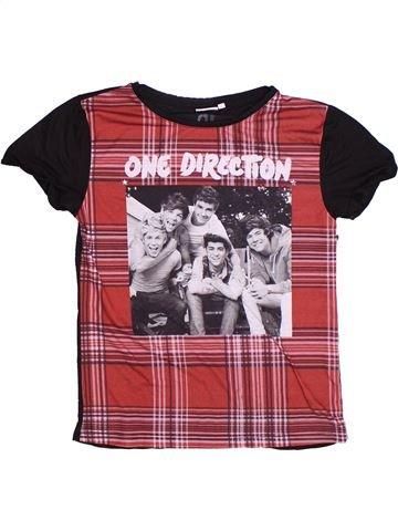 T-shirt manches courtes fille ONE DIRECTION violet 12 ans été #1266119_1