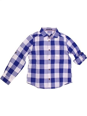 Camisa de manga larga niño CYRILLUS violeta 8 años invierno #1266693_1