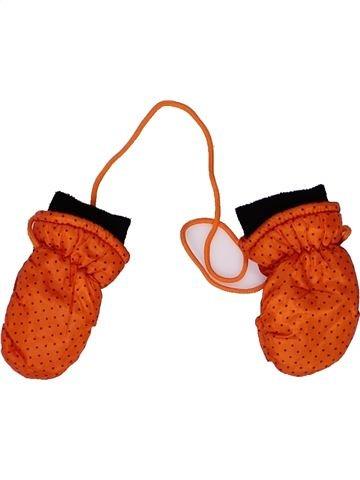 Guantes niña SANS MARQUE naranja 12 meses invierno #1266849_1