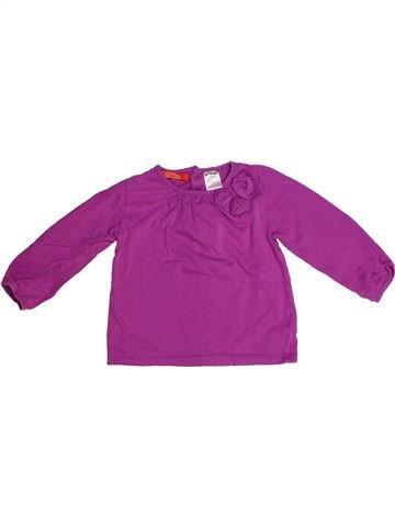 Camiseta de manga larga niña LA REDOUTE CRÉATION rosa 2 años invierno #1266934_1