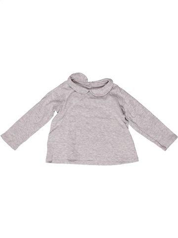 Camiseta de manga larga niña PETIT BATEAU blanco 2 años invierno #1267007_1