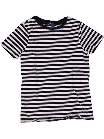 T-shirt manches courtes fille GAP blanc 9 ans été #1267086_1