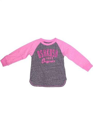T-shirt manches longues fille OSH KOCH B'GOSH violet 3 ans hiver #1267144_1