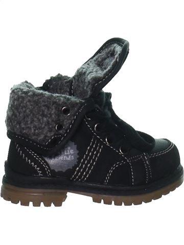 Chaussures à lacets garçon CHARLIE & FRIENDS noir 20 hiver #1267295_1