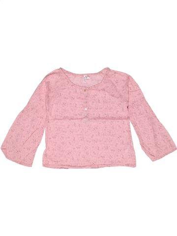 Blusa de manga larga niña LISA ROSE rosa 8 años invierno #1267342_1