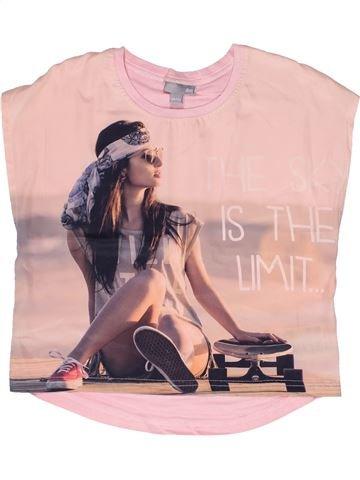 T-shirt sans manches fille JBC violet 12 ans été #1267437_1