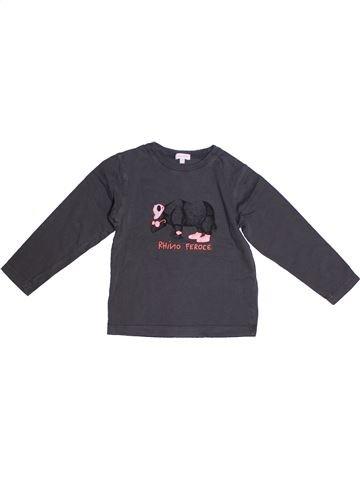 Camiseta de manga larga niña ABSORBA gris 3 años invierno #1267447_1