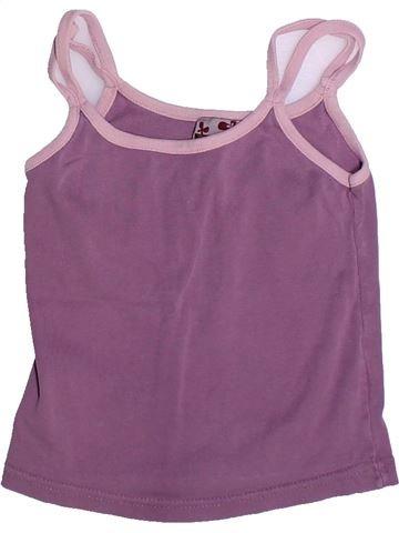 T-shirt sans manches fille VYNIL FRAISE violet 6 ans été #1267472_1