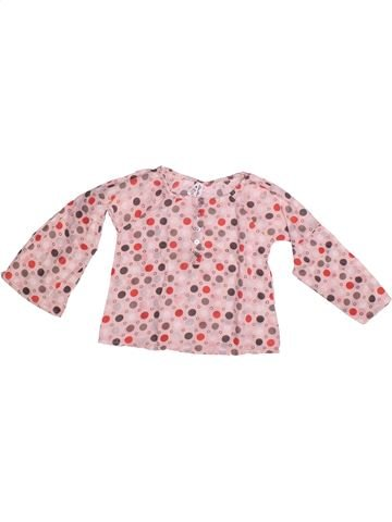 Blouse manches longues fille LISA ROSE rose 3 ans hiver #1267537_1