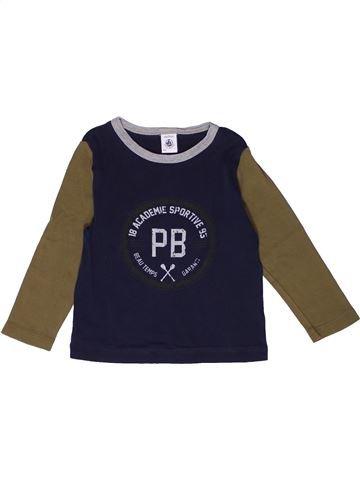 Camiseta de manga larga niño PETIT BATEAU negro 3 años invierno #1267666_1