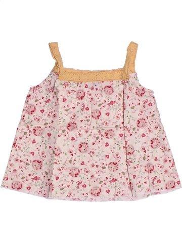 Blusa de manga corta niña PETIT BATEAU violeta 4 años verano #1267866_1