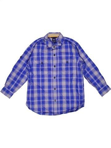 Chemise manches longues garçon GAP violet 7 ans hiver #1267986_1
